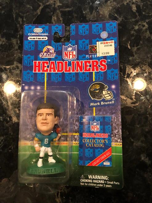 1997 NFL Headliners Mark Brunell Jacksonville Jaguars