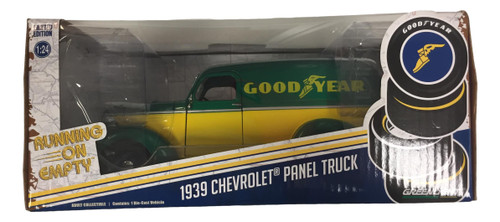 Greenlight 1:24 1939 Chevrolet Panel Truck Goodyear Tires CHASE