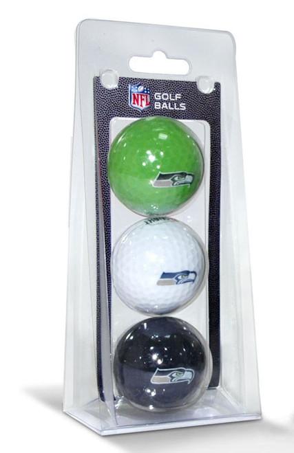 NFL Officially Licensed 3 Pack Golf Balls Team Color Choose Your Team