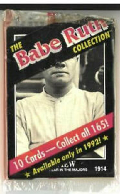 1992 The Babe Ruth Collection Baseball Pack