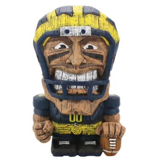 FOCO Michigan Wolverines Generic Player Eekeez Figurine, 4""