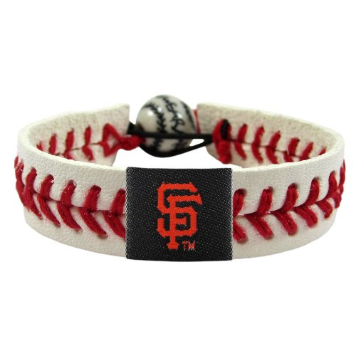 Official MLB Leather Baseball Bracelet Classic Choose Your Team