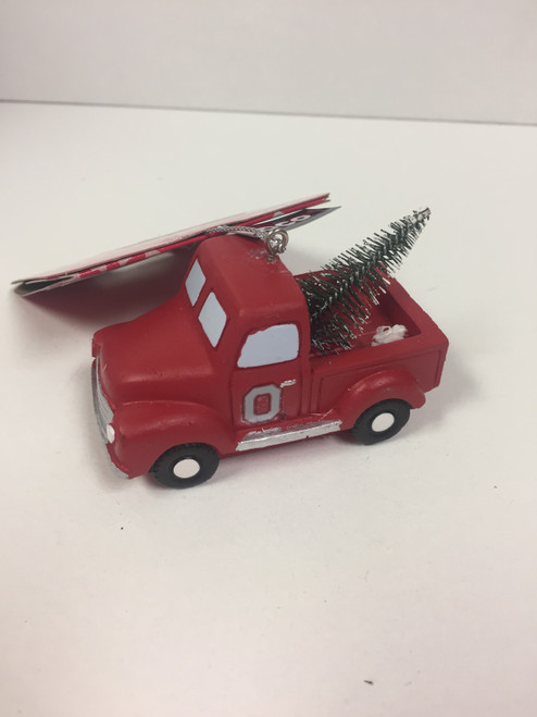 NCAA Team Truck with Tree Ornament Choose Your Team