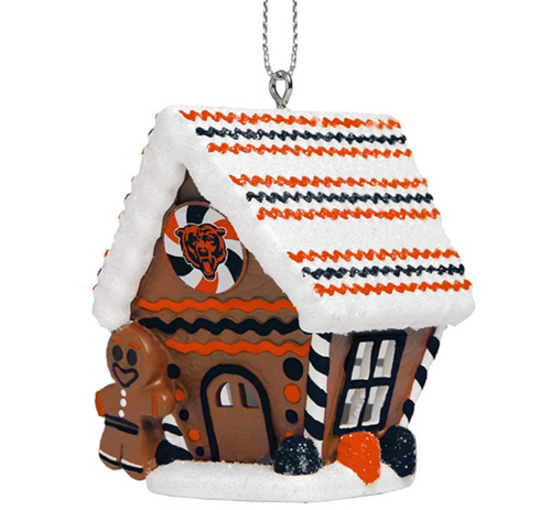 NFL Team Gingerbread House Ornament Choose Your Team