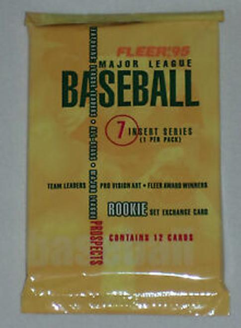 1995 Fleer Baseball Pack