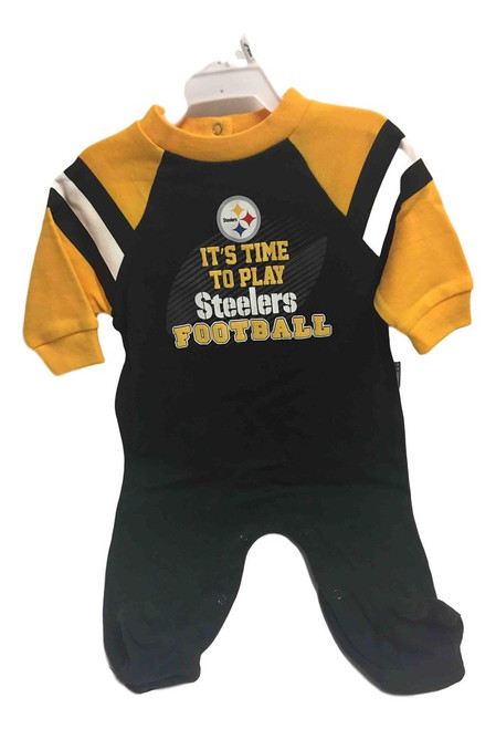 NFL Pittsburgh Steelers Sleep & Play - Choose Your Size