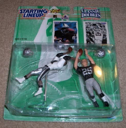 Starting Lineup Classing Doubles 1997 Edition Tim Brown Fred Biletnikoff Raiders