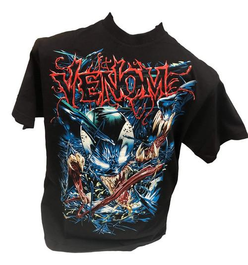 Marvel Venom T-Shirt Black (Medium)