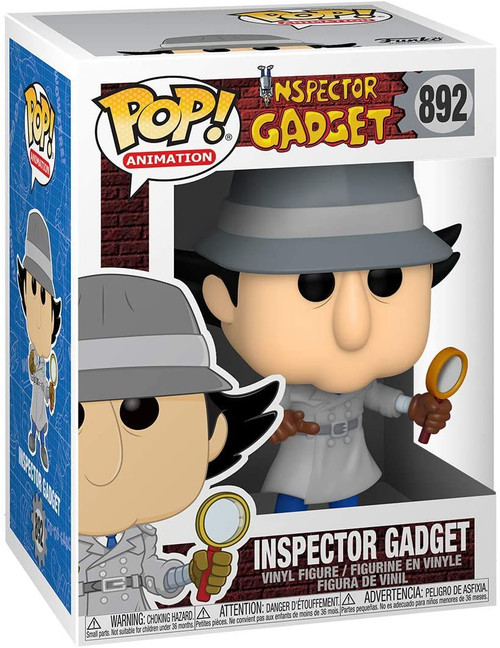 Funko POP! Animation Inspector Gadget #892