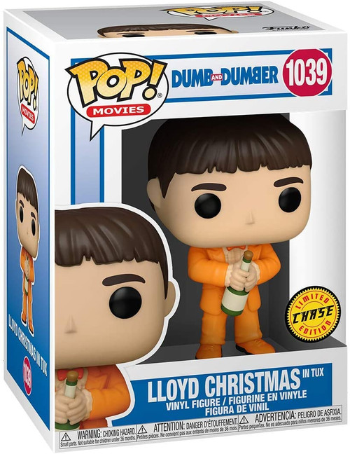 Funko POP! Movie: Dumb and Dumber Lloyd Christmas in Tux #1039 - Chase