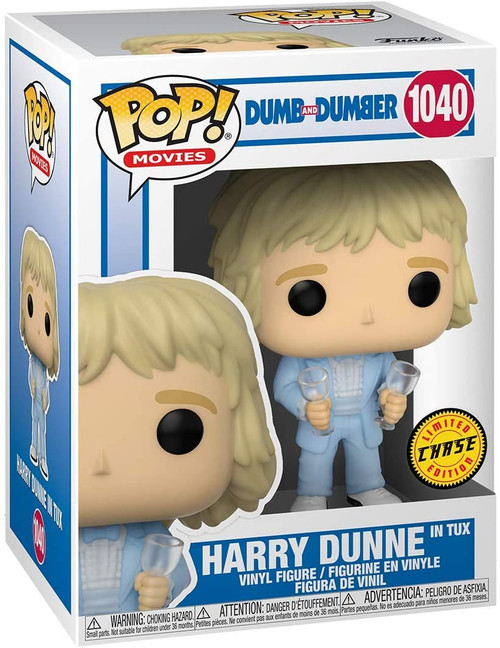 Funko POP! Movie: Dumb and Dumber Harry Dunne in Tux #1040 - CHASE