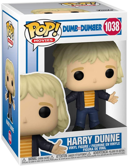 Funko POP! Movie: Dumb and Dumber Harry Dunne Casual Harry #1038