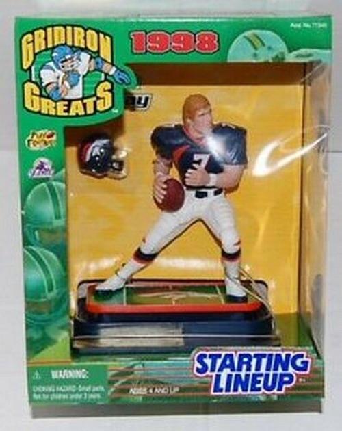 1998 Gridiron Greats Starting Lineup John Elway Denver Broncos