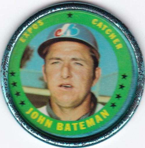 1971 Topps Coin #19 John Bateman -- Expos