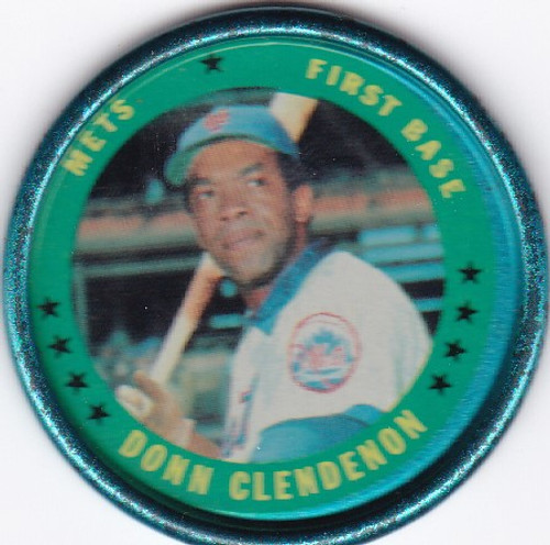 1971 Topps Coin #151 Donn Clendenon -- Mets