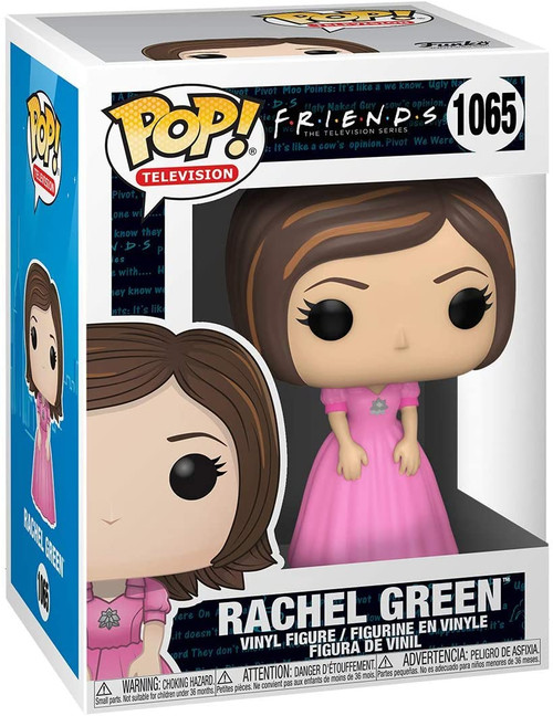 Funko POP! TV: Friends Rachel Green in Pink Dress #1065