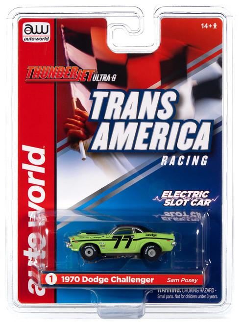 AW Thunderjet Ultra-G SC357 R30 Trans America Slot Car 1970 Dodge Challenger