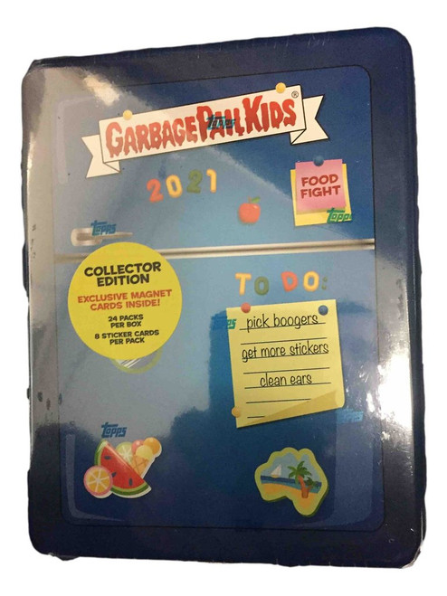 Topps Garbage Pail Kids Food Fight Hobby Collectors Edition Box