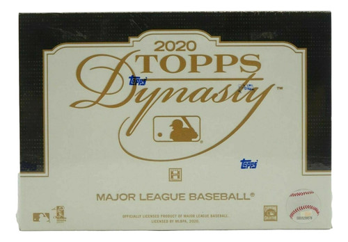 2020 Topps Dynasty Baseball Hobby Box