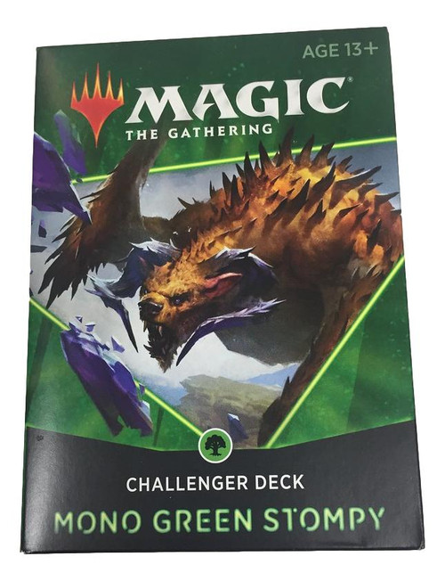 Magic The Gathering: Challenger Deck Mono Green Stompy