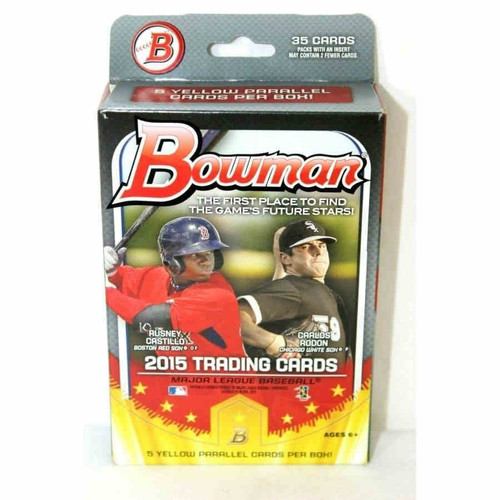 2015 Bowman Baseball Hanger Box