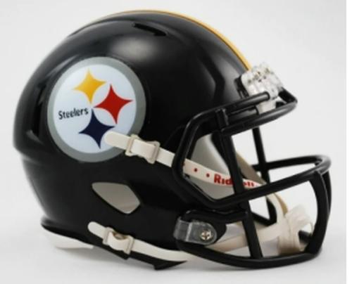 Pittsburgh Steelers Riddell Replica Speed Mini Helmet