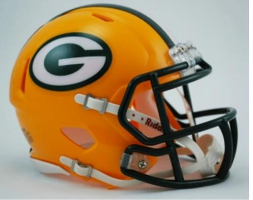 Green Bay Packers Riddell Replica Speed Mini Helmet