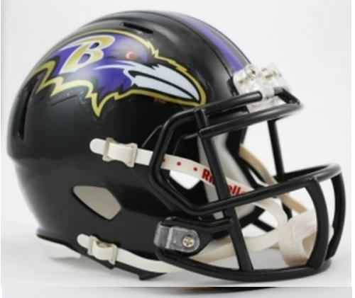 Baltimore Ravens Riddell Replica Speed Mini Helmet
