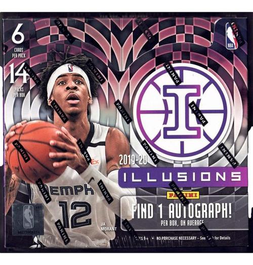 2019-20 Panini Illusions Basketball Hobby Box