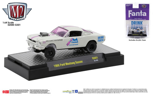 M2 Machines Coca-Cola Release GS01 1966 Ford Mustang Gasser Fanta