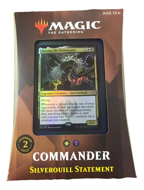 Magic The Gathering: STRIXHAVEN Commander Silverquill Statement