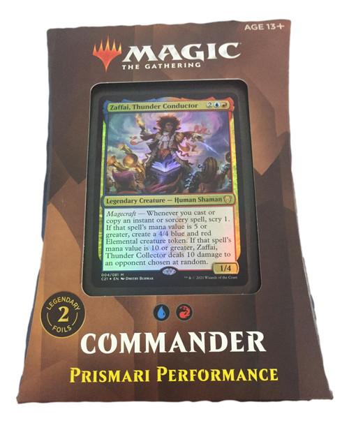 Magic The Gathering: STRIXHAVEN Commander Prismari Performance
