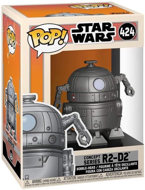 Funko POP Star Wars: Concept Series R2-D2  #424