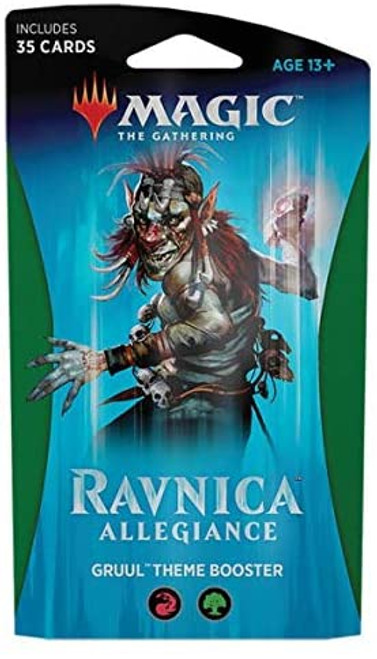 Magic The Gathering: Ravnica Allegiance - Theme Booster Pack - Gruul
