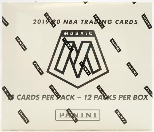 2019-20 Panini Mosaic Basketball Multi Pack Box