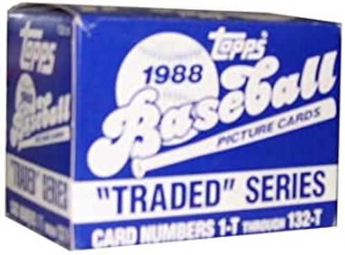 1988 Topps Baseball Traded Set 132 Trading Cards