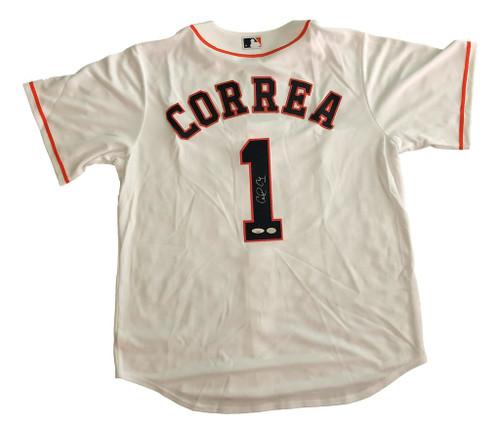 Carlos Correa Autographed Houston Astros Jersey - Tristar COA