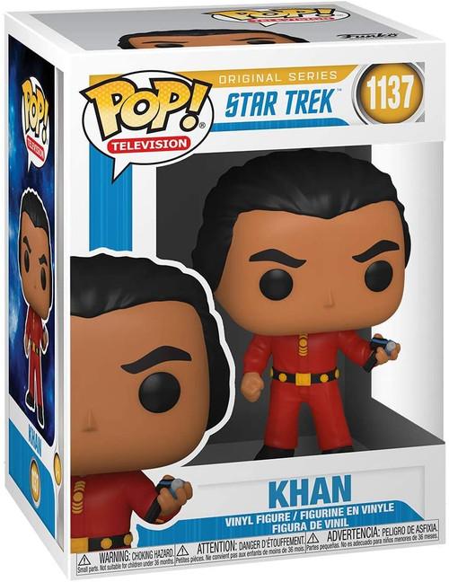 Funko POP! TV Original Series Star Trek Khan Mirror Mirror #1137