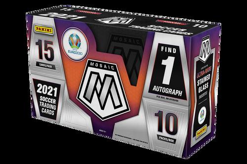 2020-21 Panini Mosaic EURO Soccer UEFA Hobby Box