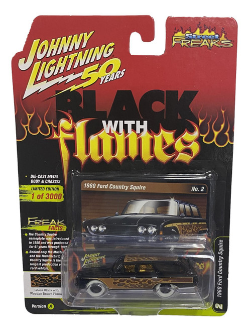 Johnny Lightning 1:64 Street Freaks Ver A 1960 Ford Country Squire CHASE