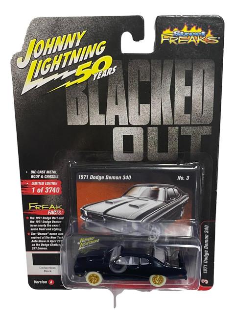 Johnny Lightning 1:64 Street Freaks Ver A 1971 Dodge Demon 340 CHASE