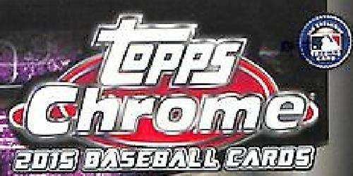2015 Topps Chrome Baseball Complete Set (200 Cards)