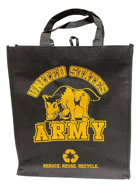 ARMY Printed Non-Woven Polypropylene Reusable Grocery Tote Bag