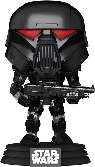 Funko POP! Star Wars Mandalorian Dark Trooper Battle #466