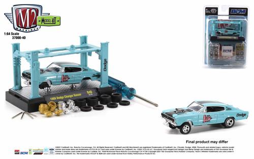 M2 Machines 1:64 Model Kit Release 40 1966 Dodge Charger Gasser