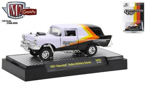 M2 Machines 1:64 1957 Chevrolet Sedan Delivery Gasser Release GS09