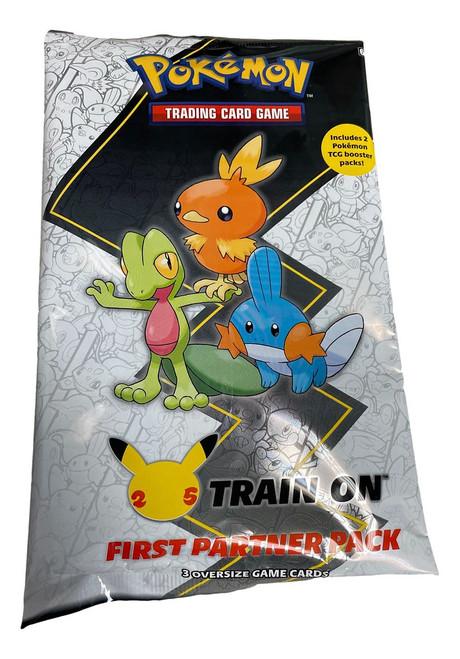 Pokemon 25th Anniversary Train on First Partner Pack August HEONN