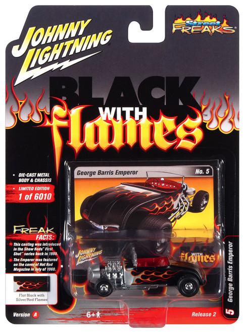 Johnny Lightning 1:64 Street Freaks Ver A George Barris Emperor Black w Flames