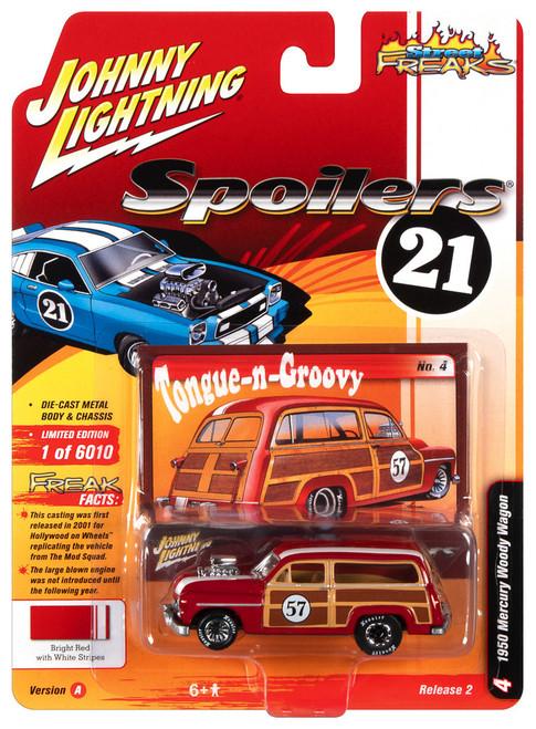Johnny Lightning 1:64 Street Freaks Ver B 1950 Mercury Woody Wagon Copper