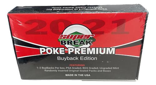 2021 Super Break Poke Premium Box Buyback Edition